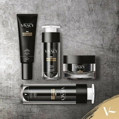 Bonjour, and may we introduce you to MONSIEUR SKIN CARE® :the brand new skincare range for men from Laboratoires VIVACY 🇫🇷 From soothing gels to hydrating creams, this range covers your anti-ageing needs in easy steps, to keep you looking and feeling your best, using only the highest quality, active ingredients.  . Take a closer look at VIVACYBEAUTY.com ⭐️ . #vivacybeauty #mensskincare #menscosmetics #malebeauty #monsieurskincare #men #beauty #skincare